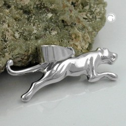 Pendentif Jaguar en Argent 925