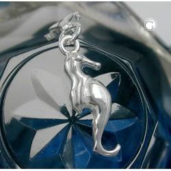 Breloque, charm hippocampe en argent