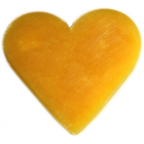 Savon coeur orange et gingembre