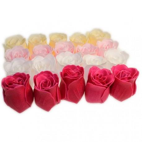 Assortiment de roses de bain