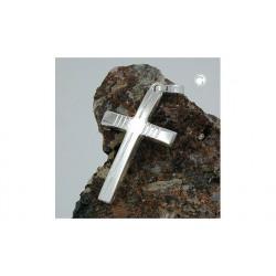 Pendentif croix en argent