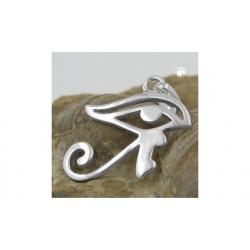 Pendentif Oeil d'Horus en argent