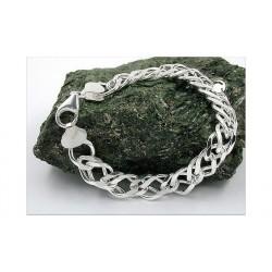 Bracelet gourmette en argent